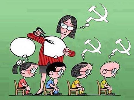 Resultado de imagem para professora comunista